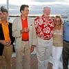 2007 - COURAGEOUS 30th Reunion, w/ Randy, de, Maude & John - photo by Dan Nerney