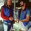 1983 - Presenting Smee Anchor to Bruce Kirby @ Candy Store SINS meeting