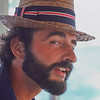 "1980 - ""FREEDOM"" with a borrowed hat2010 -  phot by Dan Nerney"