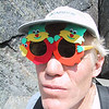 "John with ""geocache glasses""."