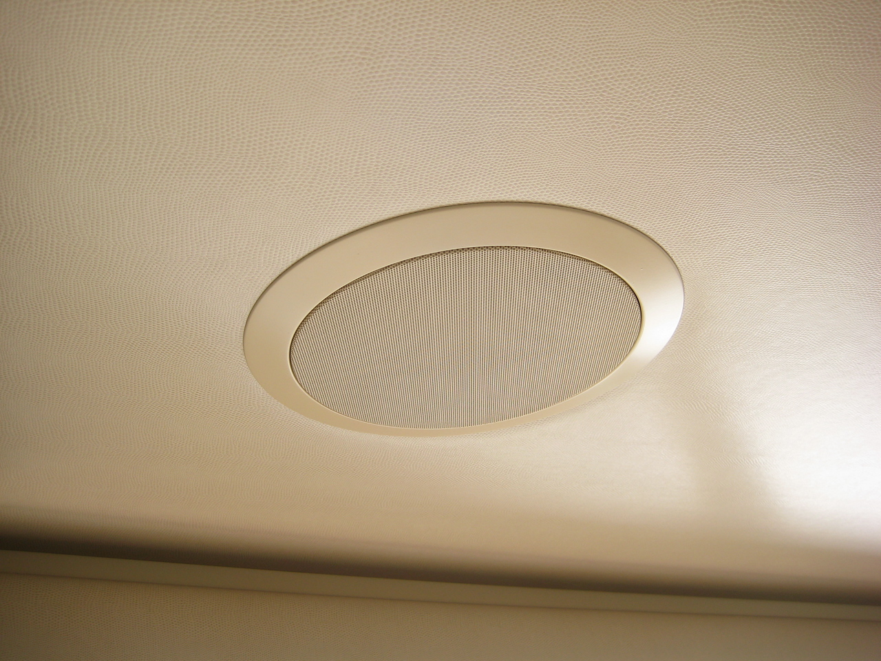 Available in ceiling speakers offer the best fidelity available from your system.