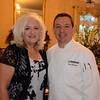 Linda Thomas and chef Don Bergeron