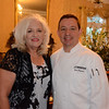 Linda Thomas and chef Don Bergeron
