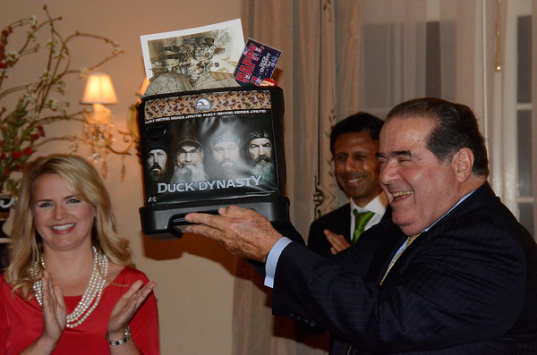 Justice Scalia at Federalist Society of BR