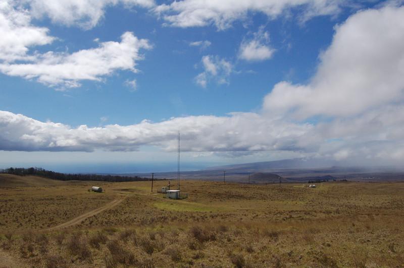 It's a very nice location, and the look-angle to the Kohala <br /> Coast and the Kamuela-Waimea area is excellent.