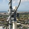 Antenna pipe mount bracket detail