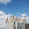 Penthouse antenna detail