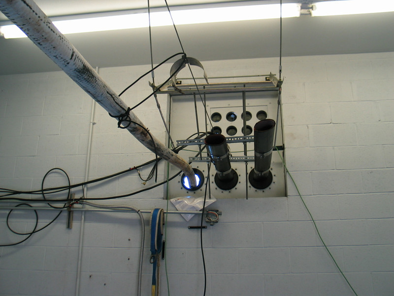 The rats were using the coax as a superhighway right to the transmitter.<br /> The coax support system was missing.