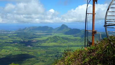 Southeast Kaua`i from Kahili