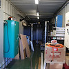 Power and storage container interior