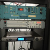 KLZY transmitter rack, Omnia One processor, fed by Internet audio feed (Comrex Bric Link)<br /> Sine Remote control is below this equipment