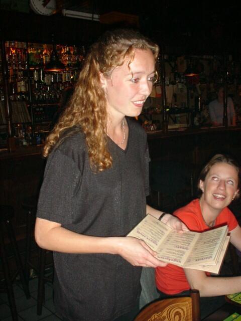 cute waitress ;)