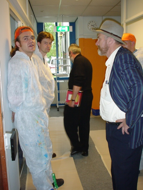 Photo of Matthijs and Jan-Peter van der Bijl, now deceased. Wow... life is strange sometimes