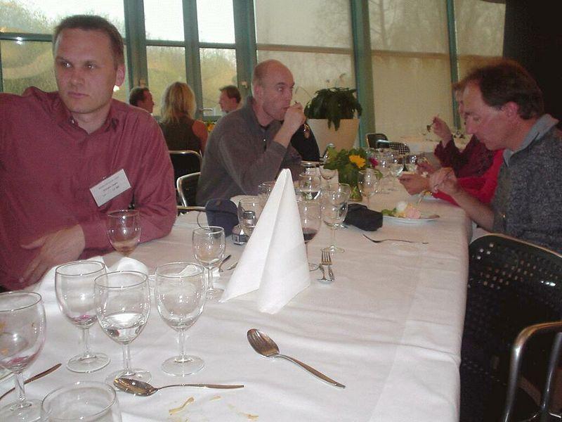 Edsger de Jager and Jan Sipke van der Veen with Gidi van Liempd