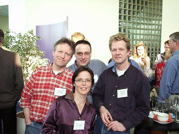 Victor Tijssen, Geert Jan Meijer, Caroline Blaas and Jan Dreteler