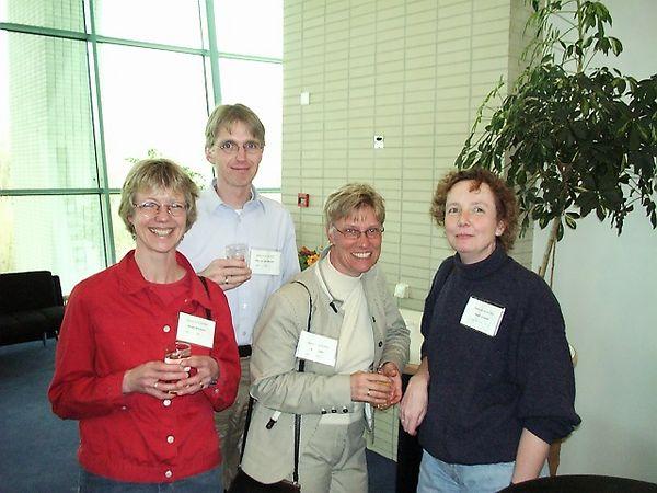 Ansje Bootsma, Piet van der Meulen, Ankie Last and Dorien Loman