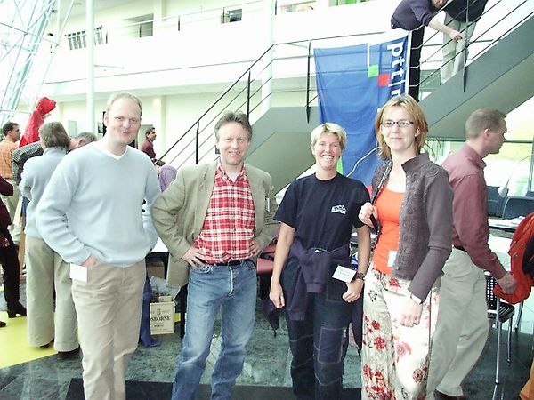 Marco Jansen, Victor Tijssen, Antoinette Littel and Jacoliene van Wijk