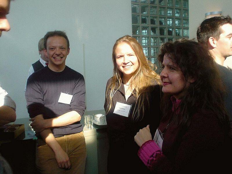 Jan Arend Jansen (Pro), Diana Kremer and Daniela Kos