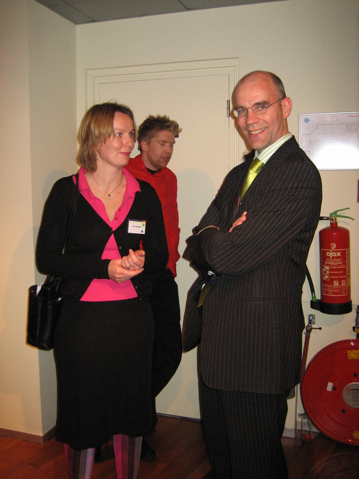 Roelof and Petra, former co-workers and managers