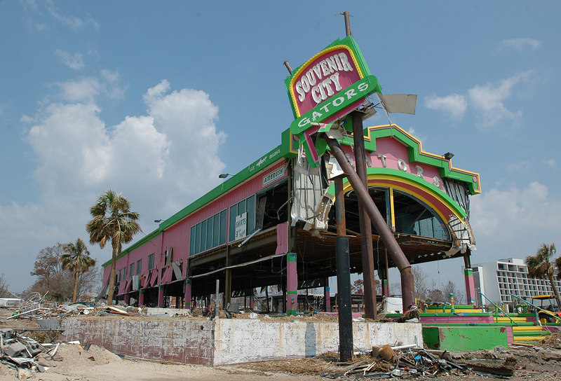 Souvenier City in Biloxi was one of hundreds of businesses along U.S. 90 that was heavily  damaged by Hurricane Katrina.