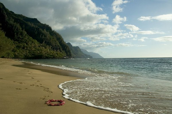 Kee'e Beach, Kauai, Hawaii