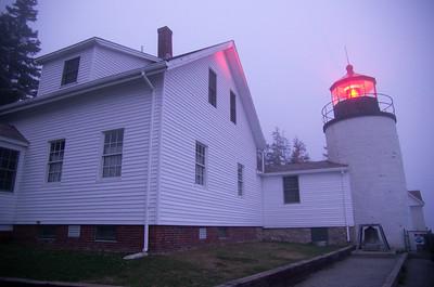 Lighthouse, Acadia National Park, Maine, USA