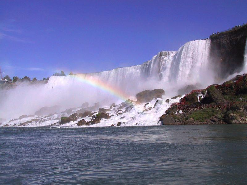 Niagara Falls - From the boat