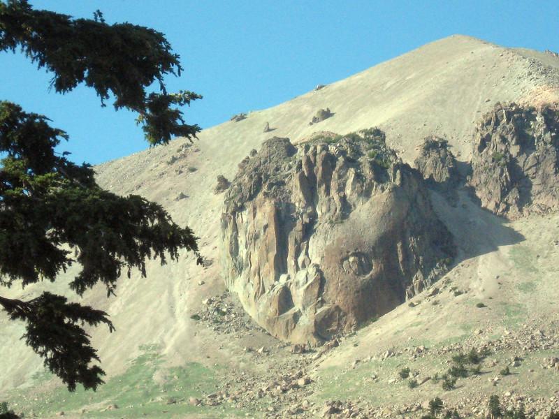 Lassen Peak, a little closer.