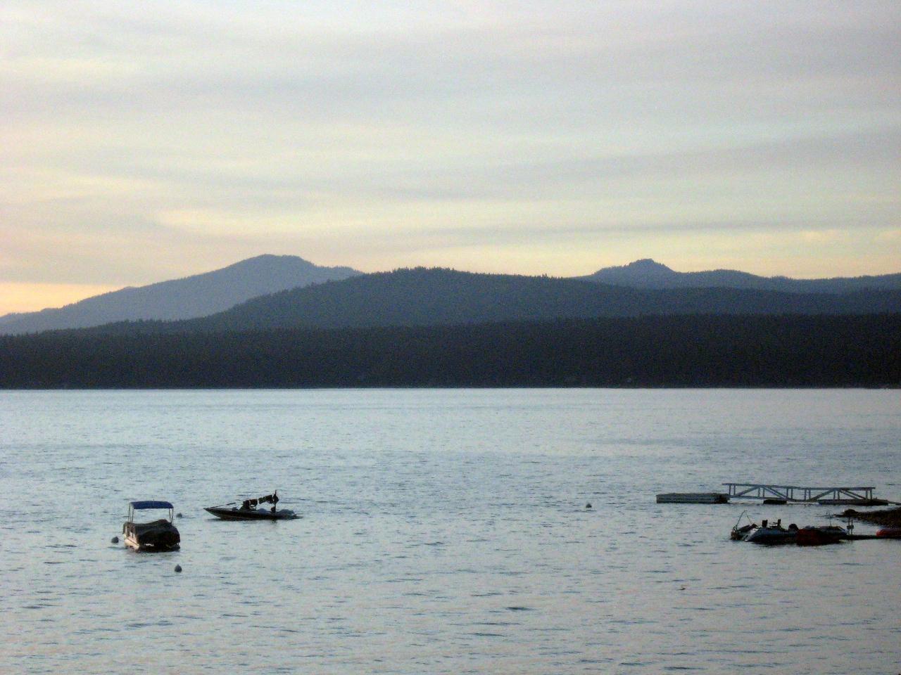 Panoramic view of Lake Almanor--#3