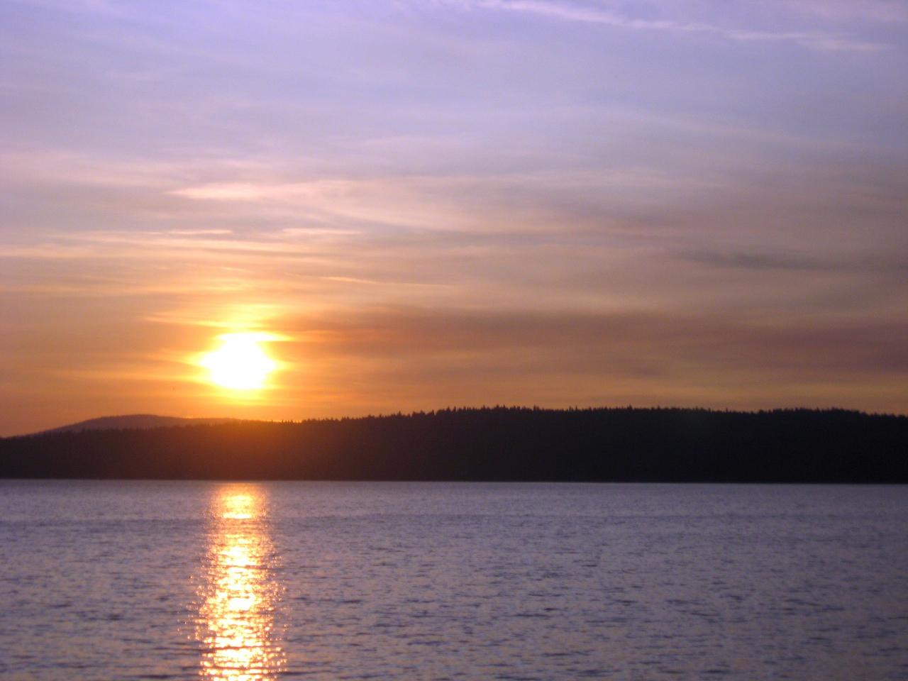 Lake Almanor at sunset #2