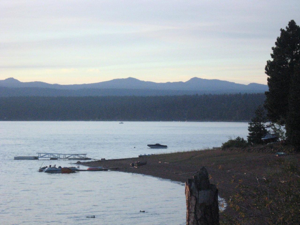 Panoramic view of Lake Almanor--#4