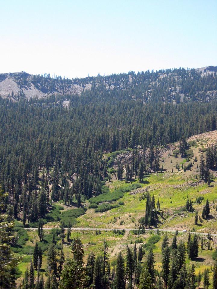 Panoramic view toward Brokeoff Mountain--#2