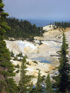 An overview of the Bumpass Hell region.