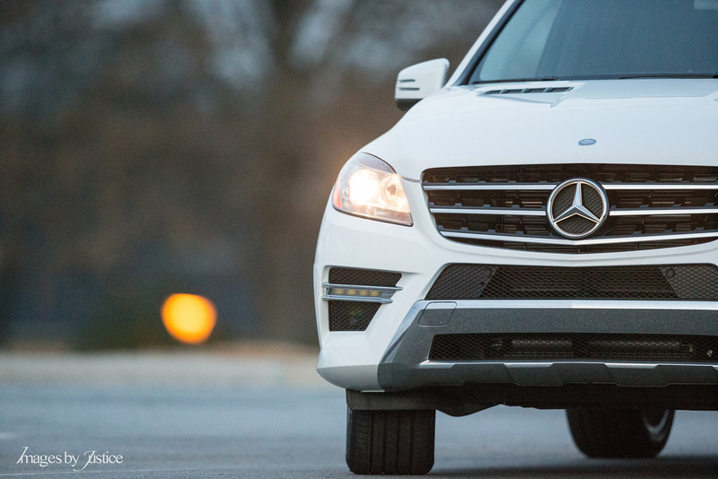 400mm f/2.8 creates wonderful bokeh seperating the car from the background.