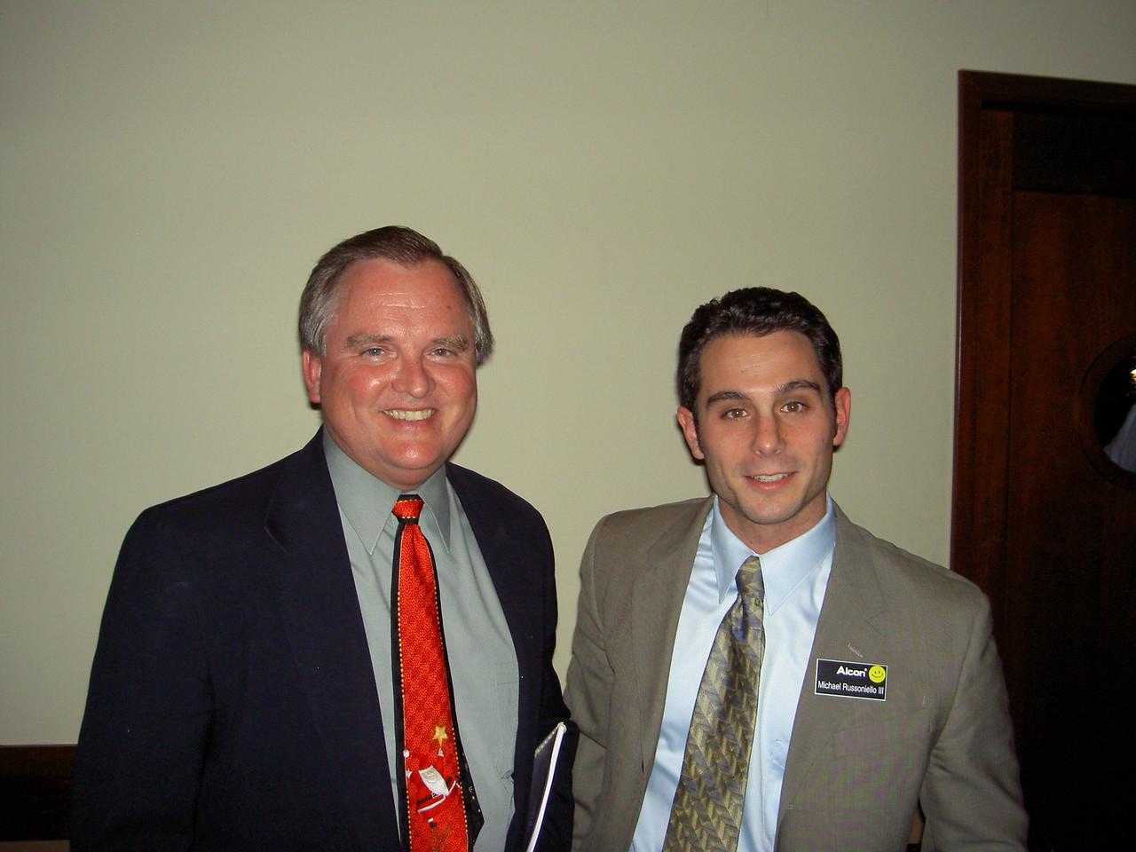 0306 Jim Niewvruski & Michael Russoniello from Alcon