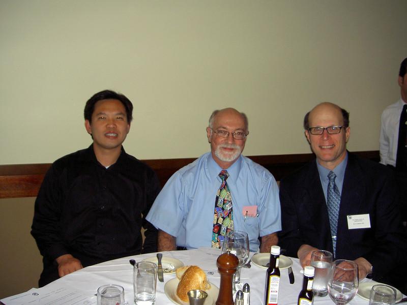 0302 David Huang, Mark Segall, Herb Goldman