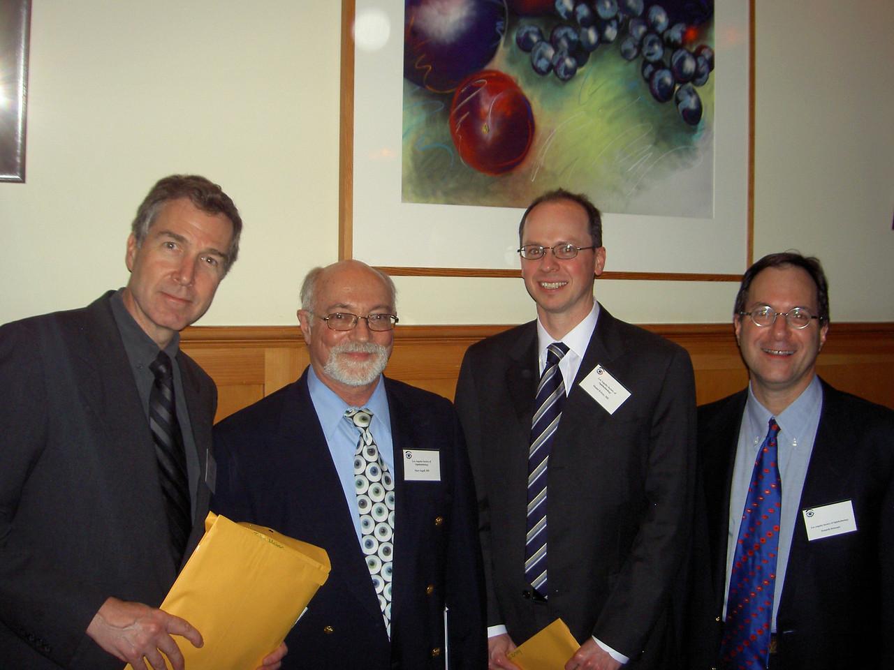 0405 John Maher, Marc Segall, Daniel Krivoy, Ken Steinsapir