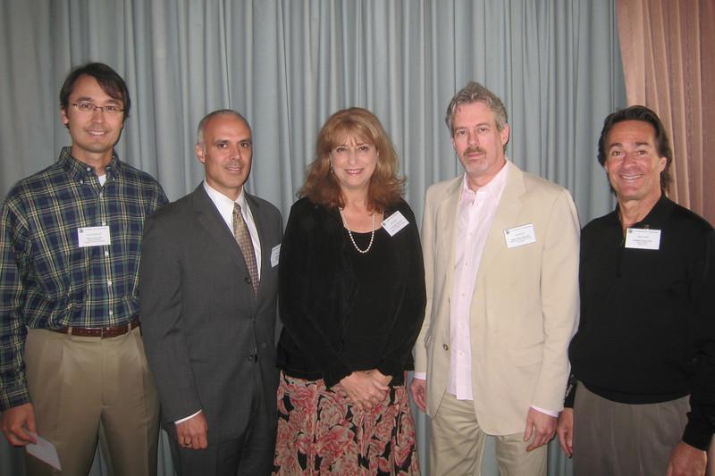 2008 Board:  Brian Francis, Peter Quieros, Lynne Gordon, Roger Novack, Jonathan Macy