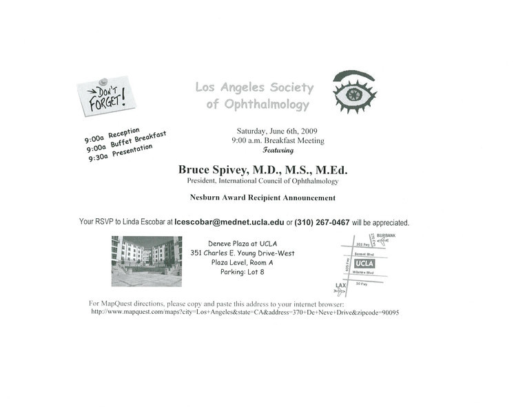 LASO Announcement June 2009