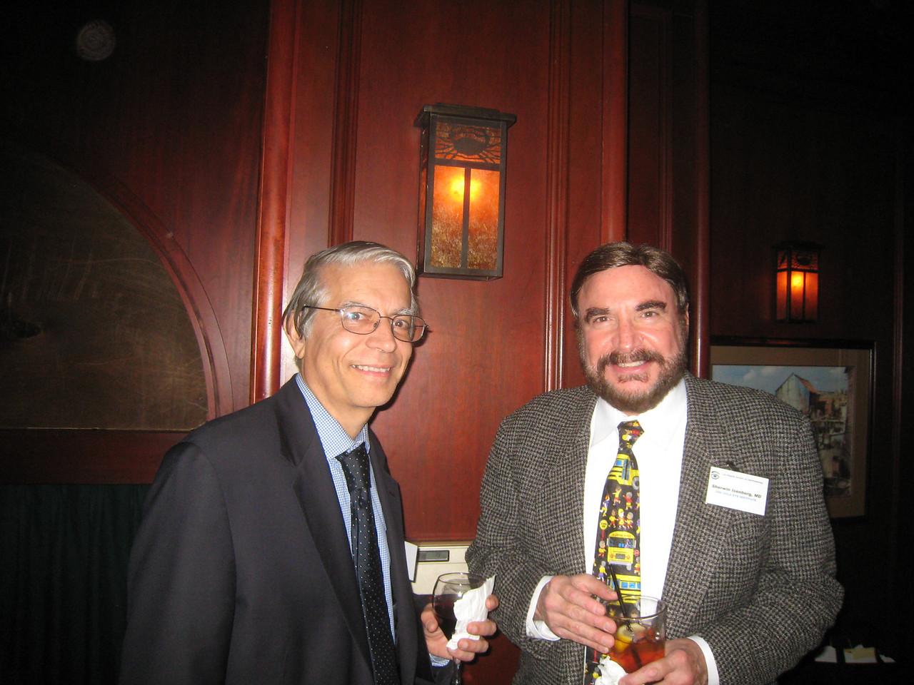 UCLA Dept Chairman Bartly Mondino & Sherwin Isenberg