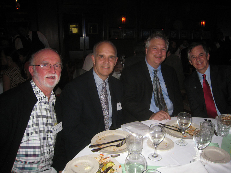 1107 Jim Salz, John Irvine, Barry Seibel, Tom Hanscom