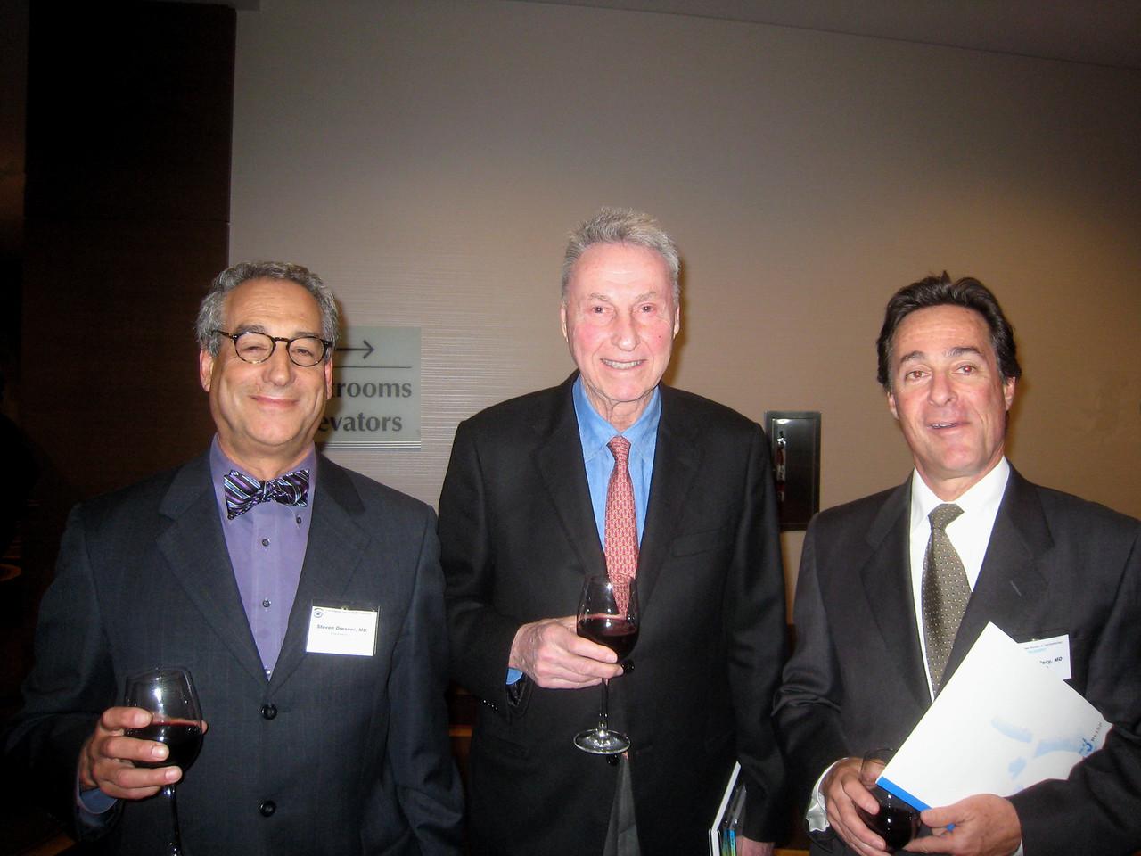 1602 Steve Dresner, Bob Sinskey, Pres Jonathan Macy