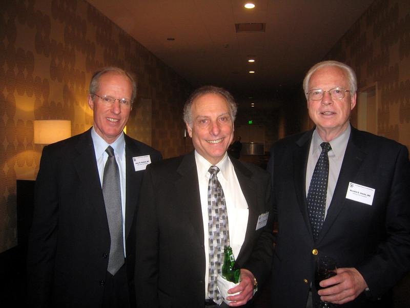 Gary Holland, Speaker Steve Feldon, USC Chairman Ron Smith