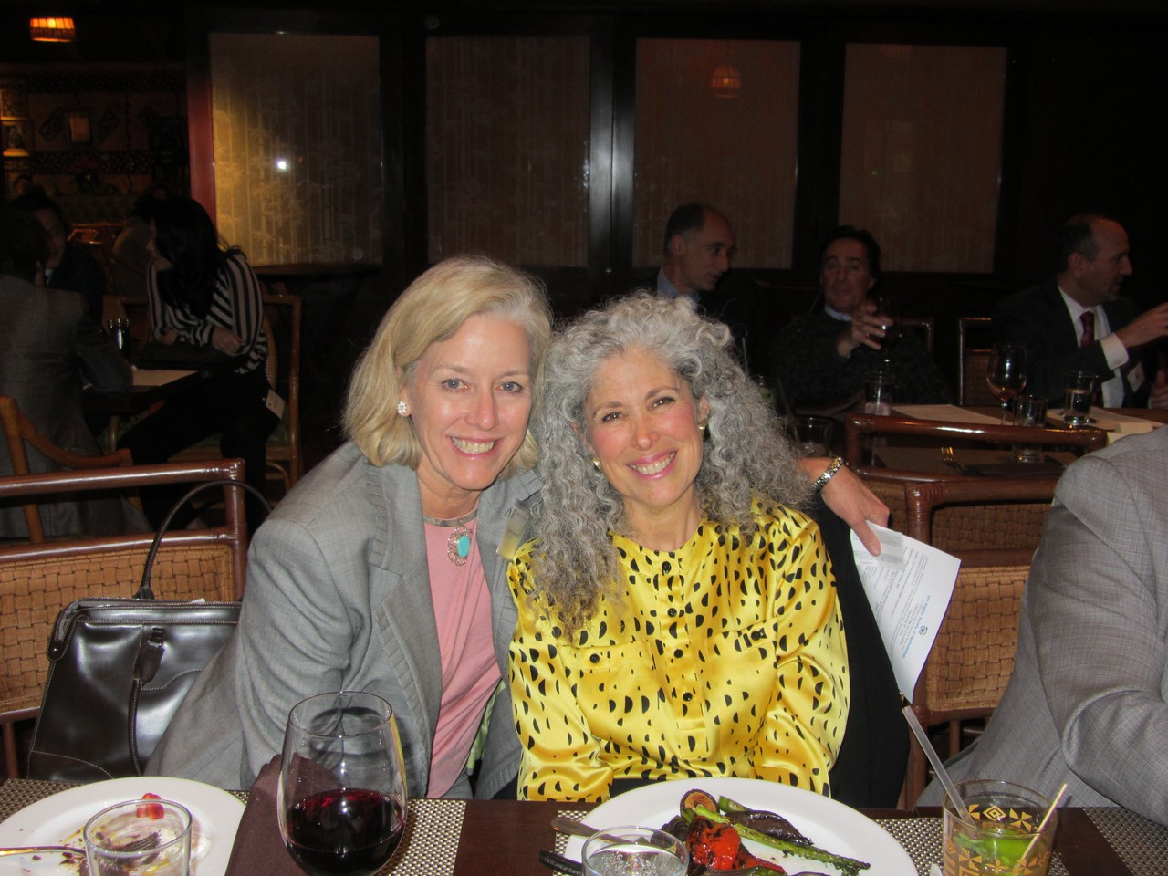 Louise Cooley Davis and Lisa Brothers Arbisser, the daughter of Joyce Brothers, practices in Iowa, spoke about difficult cataract cases.