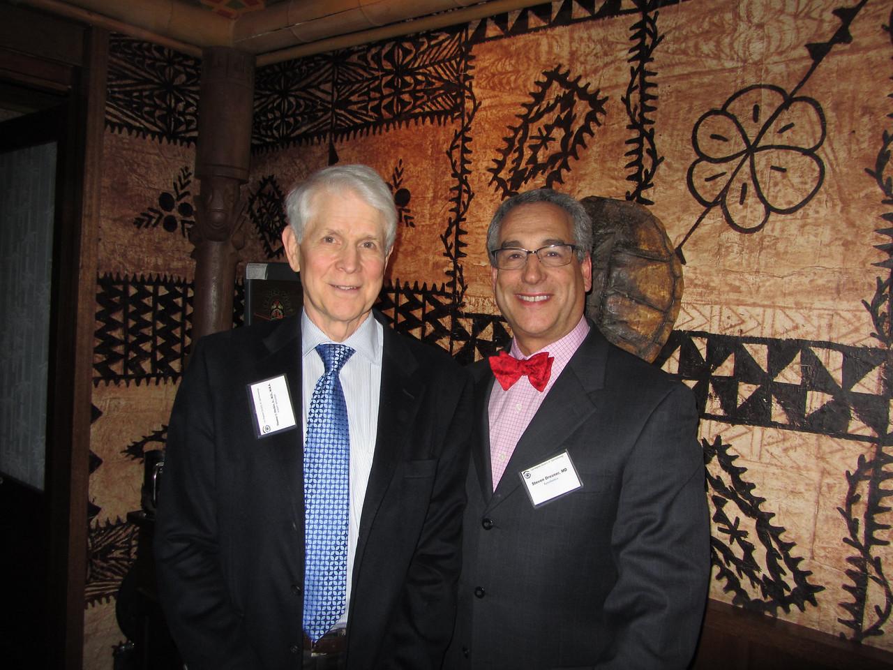 Tom Harbin, author of Waking Up Blind, with Steve Dresner