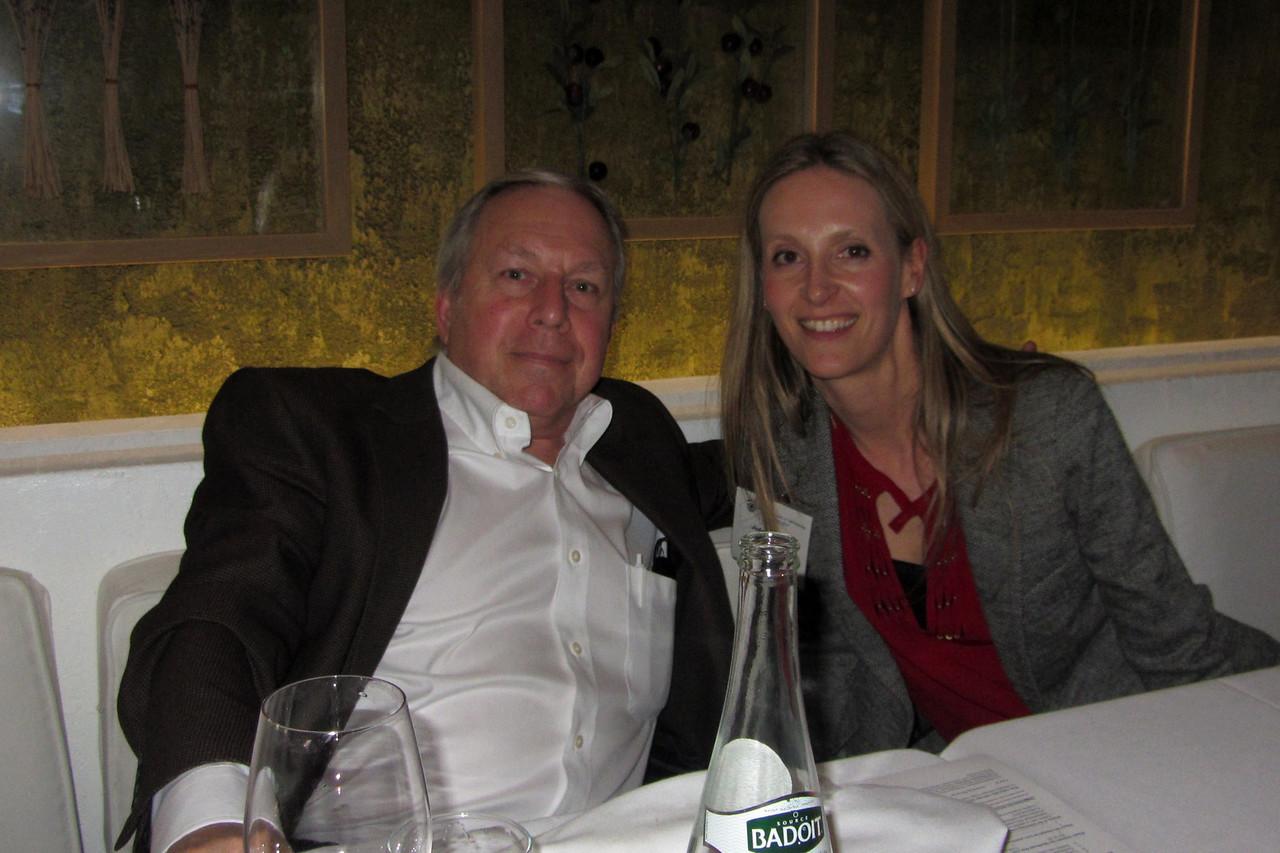 Ken Hoffer with President JoAnn Giaconi