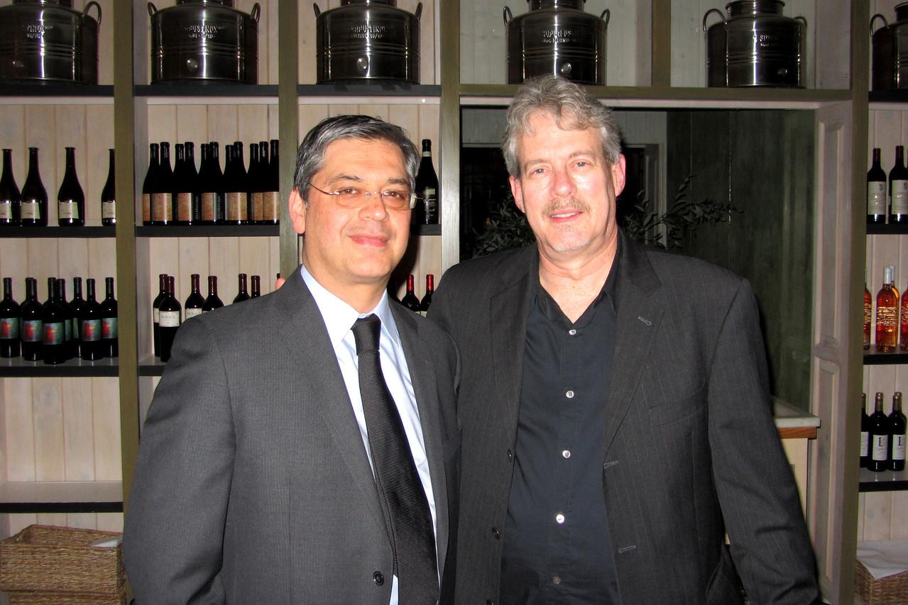 Homayoun Tabandeh & Roger Novack