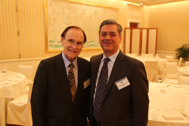 Guest Speaker Paul Palmberg and President Houmayoun Tabandeh