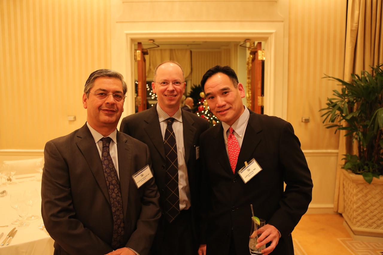President HoHomayoun Tabandeh, Program Chair Daniel Krivoy, Secretary Jeffrey Hong