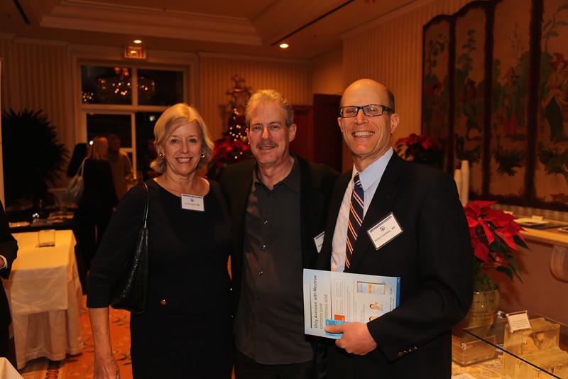 Louise Davis, Roger Novack, Herb Goldman
